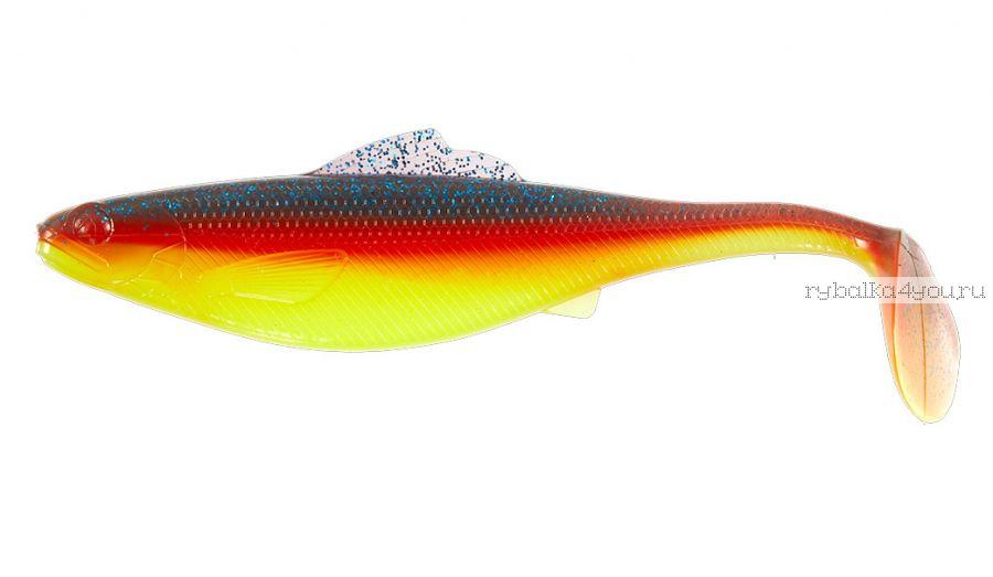 "Виброхвосты Lucky John Roach Paddle Tail 5"" 12,7 см / упаковка 4 шт / цвет: G07"