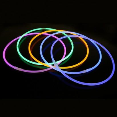 Набор светящихся ожерелий Glow Necklace, 4 шт