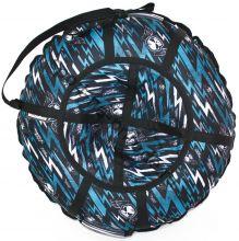 Тюбинг Hubster Люкс Pro Молнии синие 120 см