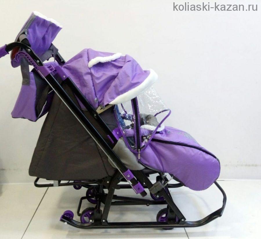 Санки-коляска Galaxykids 1-2