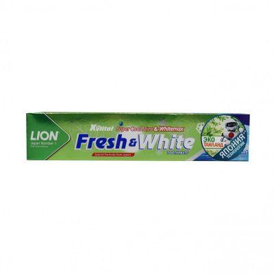 Lion Thai Fresh & White Зубная паста мятная свежесть 75 гр