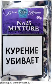 Табак трубочный Gawith & Hoggarth No25 Mixture (40 гр.)