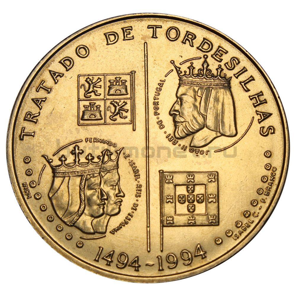 200 эскудо 1994 Португалия 500 лет с момента заключения Тордесильясского договора