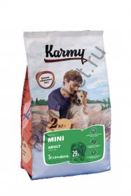 Karmy Adult Mini для собак - телятина