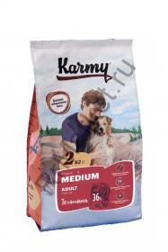 Karmy Adult Medium для собак - телятина