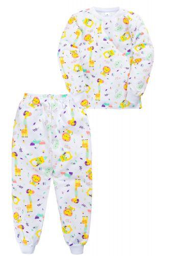 Пижама c начесом для девочки 2-5 лет Sladikmladik SM1089