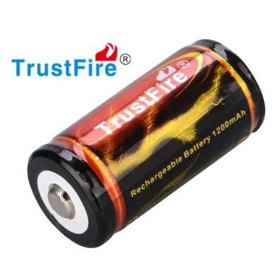 Аккумулятор Trustfire 18350 1200мАч с платой защиты