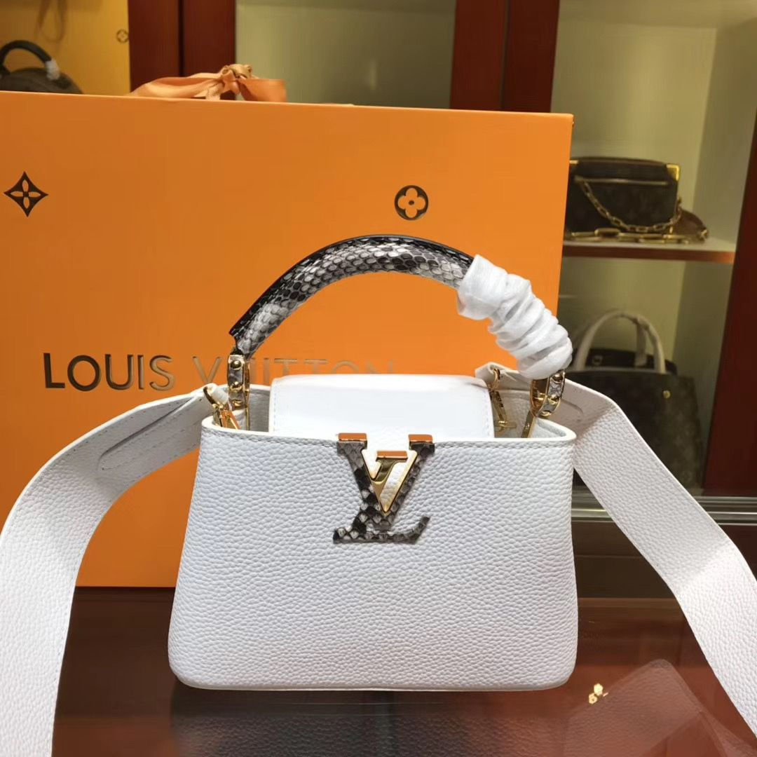 Louis Vuitton Cappucines 21 cm