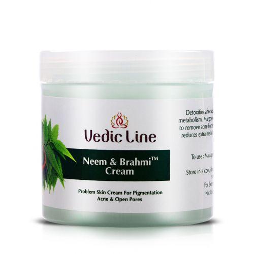 Крем для лица Ним и Брами | для проблемной кожи | 100 мл | Vedic Line
