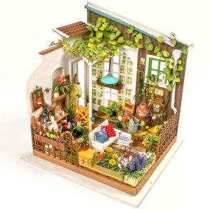 Набор для создания интерьера в миниатюре(Румбокс) «Терраса Садовника» 195X183X210.