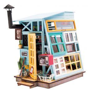 Набор для создания интерьера в миниатюре(Румбокс) «Деревянная хижина» 103*150*155.