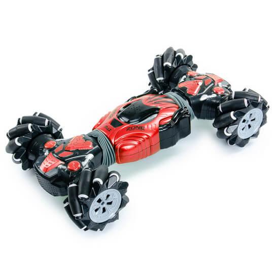 Машинка-перевёртыш с управлением жестами Champions MAX 40 см (цвет красный)