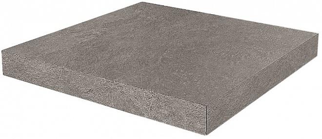 DD600500R/GCA | Ступень угловая клееная Про Стоун серый темный