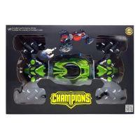 Машинка-перевёртыш с управлением жестами Champions MAX 40 см (цвет зелёный)_4