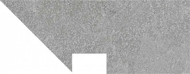 DD2004/BSL/DV | Плинтус вертикальный правый Про Стоун серый