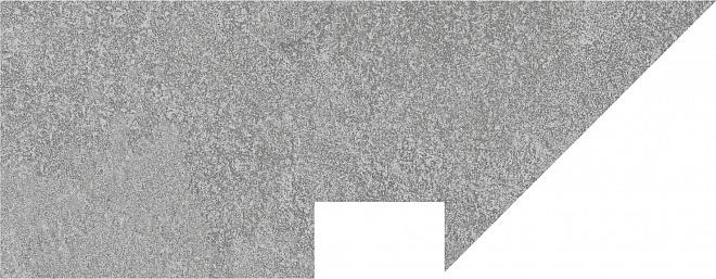 DD2004/BSL/SV | Плинтус вертикальный левый Про Стоун серый