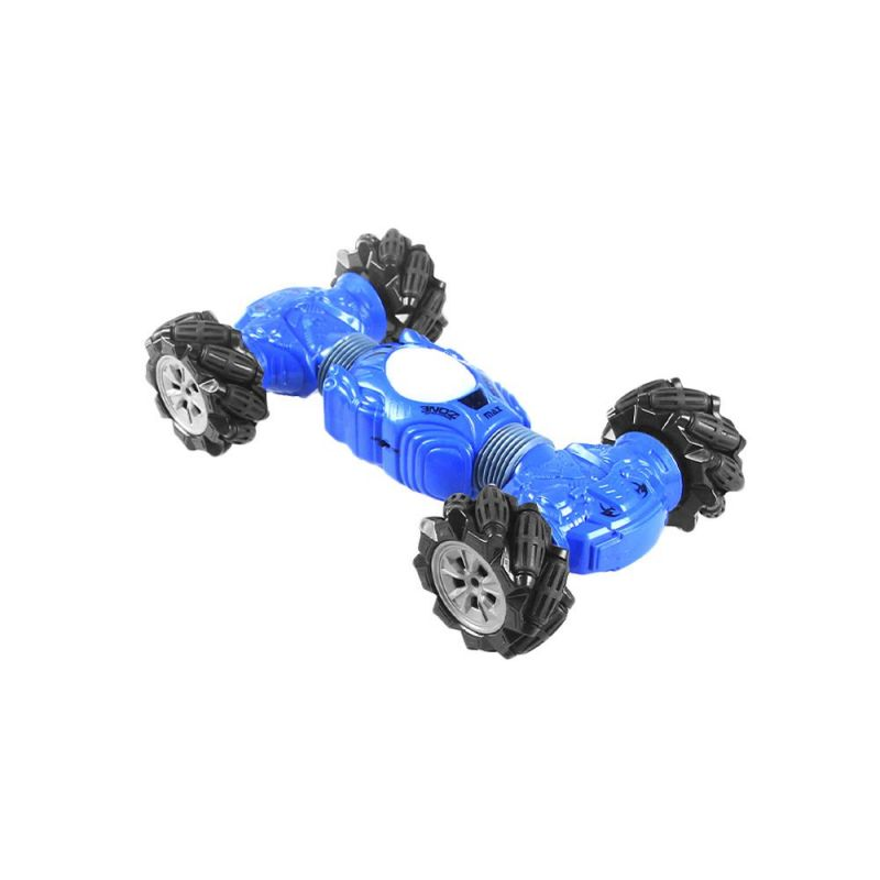 Машинка-перевёртыш с управлением жестами Champions Climber 32 см (цвет синий)