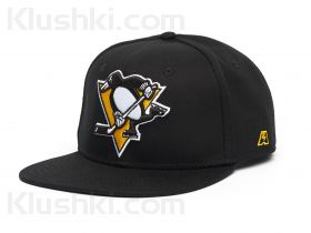 "Бейсболка ""NHL Pittsburgh Penguins Snapback"" (подростковая)  (Арт. 31082)"