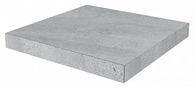 DD602200R/GCA | Ступень угловая клееная Про Матрикс серый