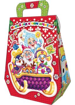 Рюкзак большой Вязаный красный 1300 грамм