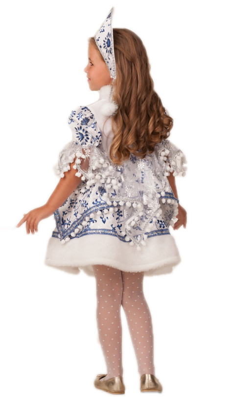 Детский костюм Снегурочки Внучки
