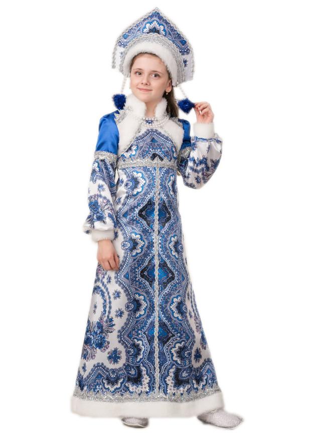Детский костюм Снегурочки Варвары