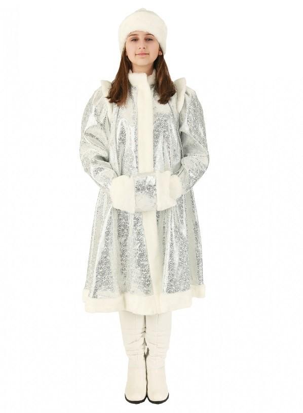 Серебряный костюм Снегурочки
