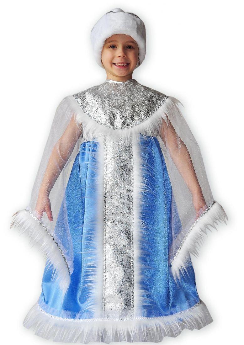 Детское платье снегурочки