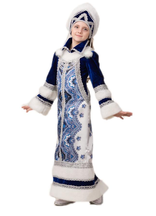 Детский костюм Боярской Снегурочки