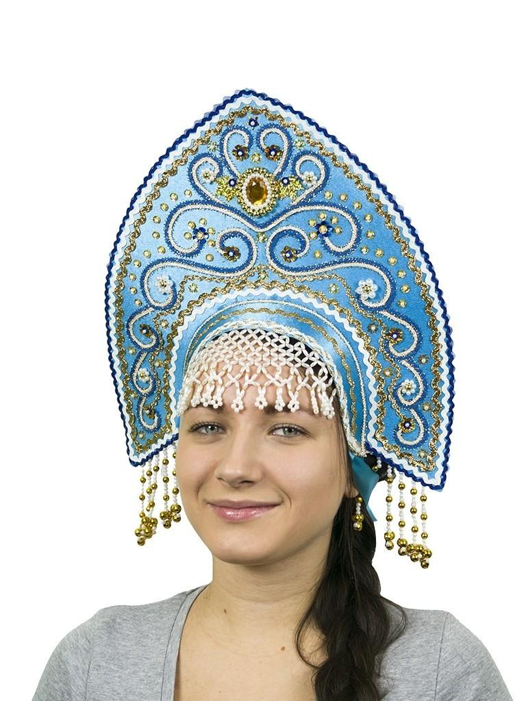 Бирюзовый кокошник Ярославна