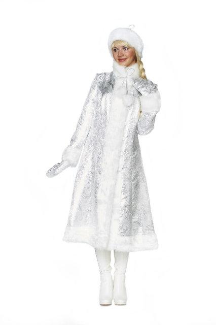 Взрослый костюм Хрустальной Снегурочки