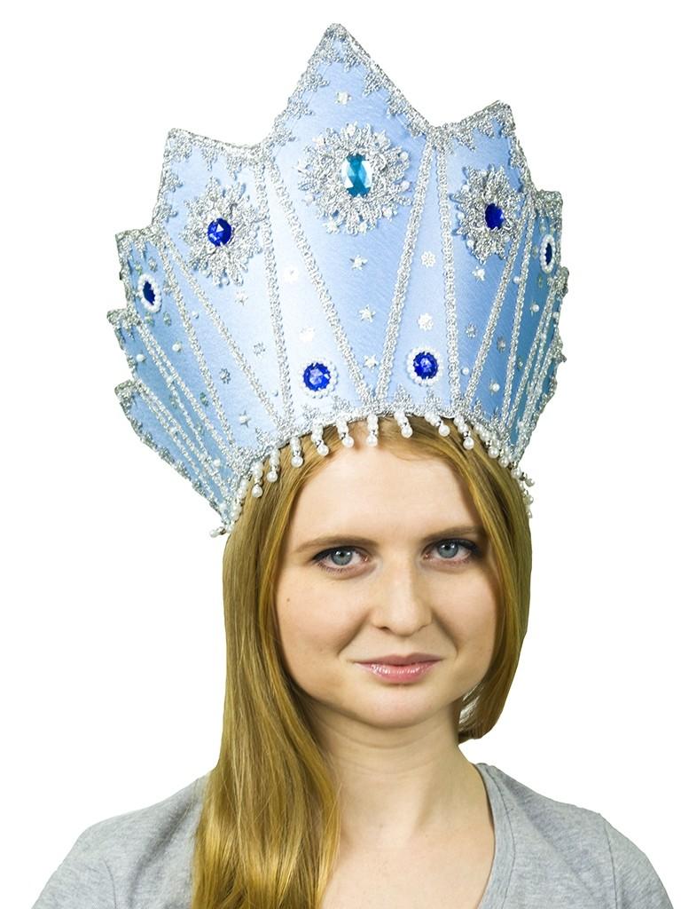 Голубой кокошник Снежная Королева