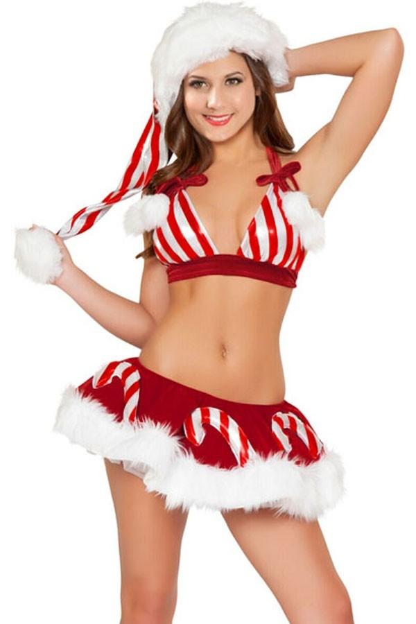 Рождественский костюм Конфетки