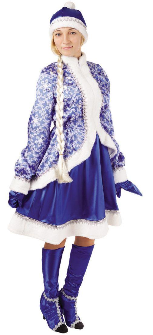Взрослый костюм Сказочной Снегурочки