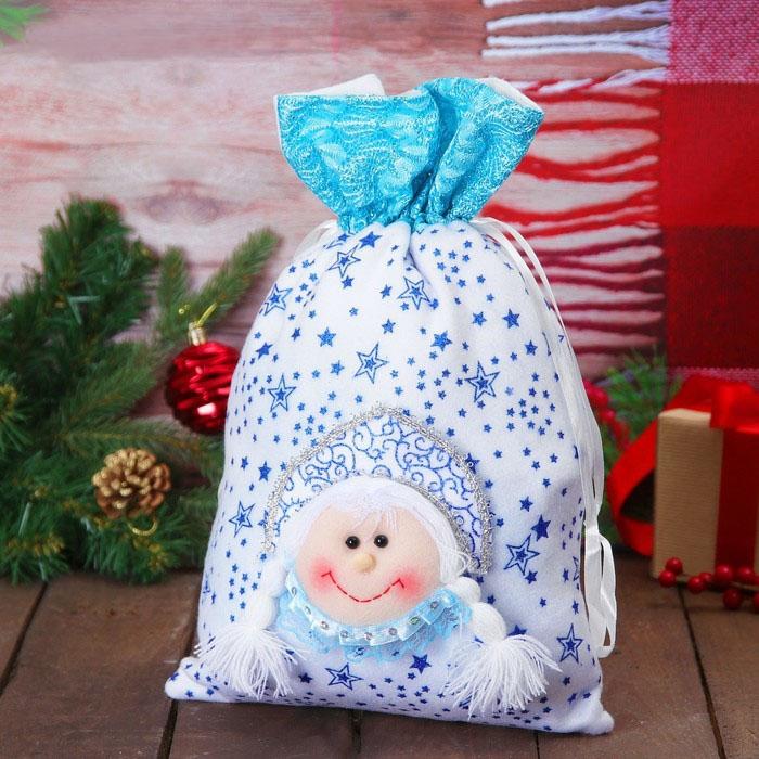 Мешок для подарков Снегурочка