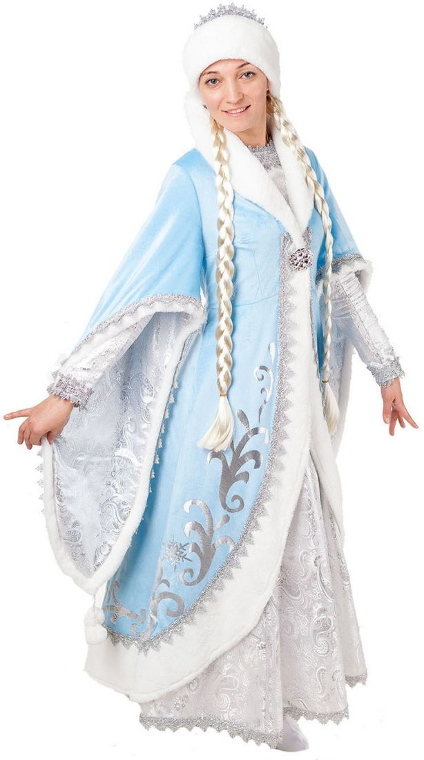 Взрослый костюм морозной Снегурочки