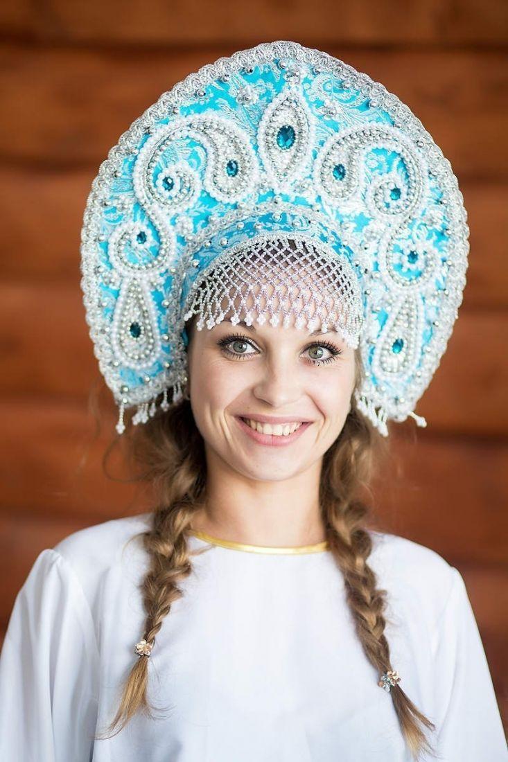 Голубой кокошник Татьяна