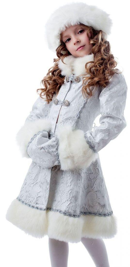 Детский костюм Морозной снегурочки