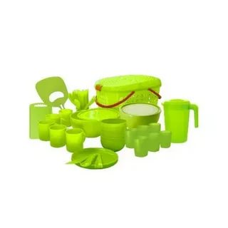Набор посуды для пикника Plastic Centre Большая компания ПЦ4062