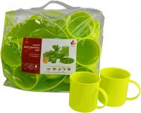 Набор посуды для пикника Plastic Centre Пир ПЦ4060