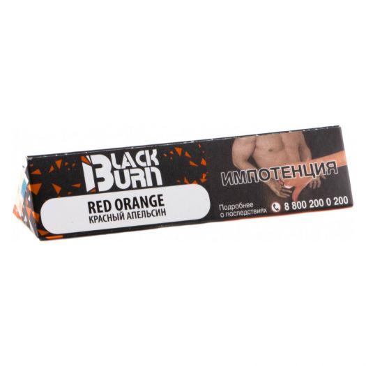 Burn Black - Red Orange