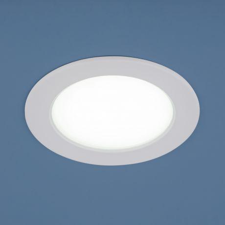 9911 LED / Светильник встраиваемый 6W WH белый
