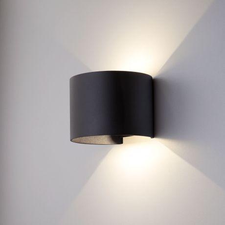1518 TECHNO LED / Светильник садово-парковый со светодиодами BLADE черный