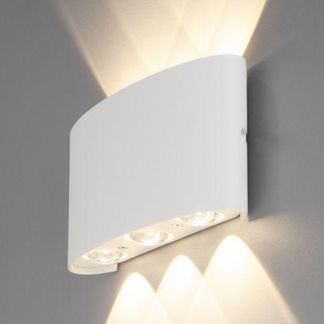 1551 TECHNO LED / Светильник садово-парковый со светодиодами TWINKY TRIO белый