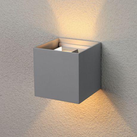 1548 TECHNO LED / Светильник садово-парковый со светодиодами WINNER серый