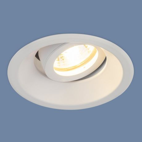 6068 MR16 / Светильник встраиваемый WH белый