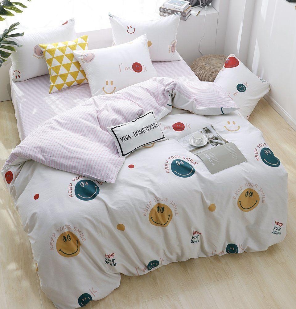 Комплект Евро  постельного белья Люкс-Сатин на резинке AR097