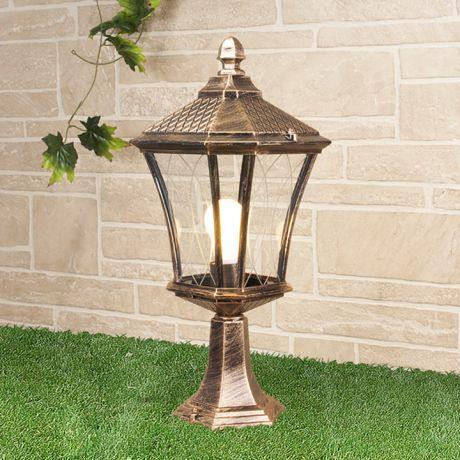 GLXT-1450S / Светильник садово-парковый Virgo S черное золото