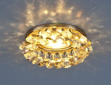 206 MR16 GD/GC / Светильник встраиваемый золото/тонированный
