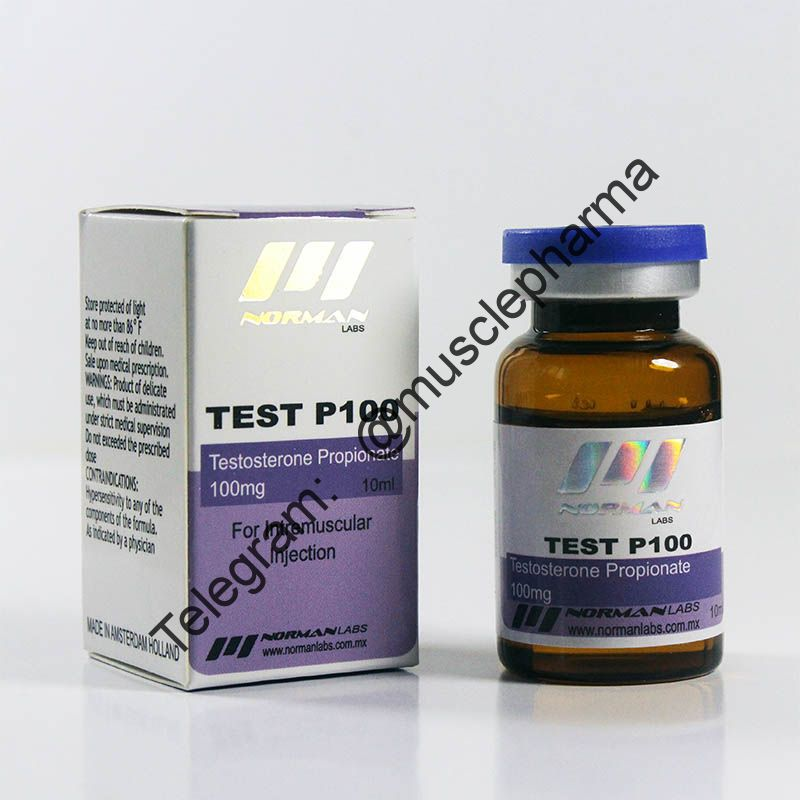 TEST P100 (NORMAN LABS). 100mg/ml 10ml * 1 флакон